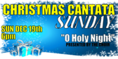 Christmas Cantata Sunday Blue