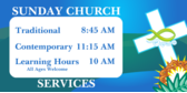 christian church sign template