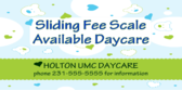 Sliding Fee Scale Avail Daycare