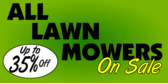 All lawn mowers on sale