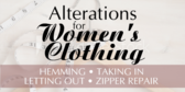 Women's Garmet Alteration