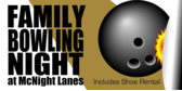 Family Bowling Night Ball and Pin