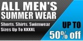 All Men's Summer Wear