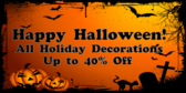 Happy Halloween Discount