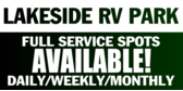 RV Capground Full Service Spots Available
