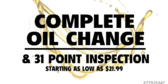 Complete Oil Change
