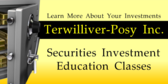 Investment Securities Education