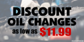 Discount Oil Changes