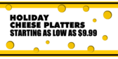 Holiday Cheese Platters