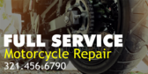 Full Service Motorcycle Repair