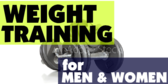 Weight Training Men Women