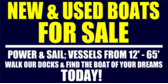 New & Used Boats For Sale
