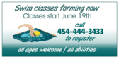 Swim Classes Forming Now