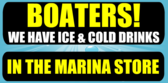 Boaters! We have Ice