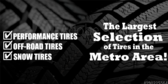 Auto Largest Tire Selection