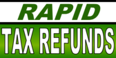 Rapid Tax Refund Green Gradient