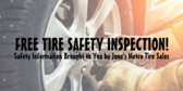 Auto Tire Inspection