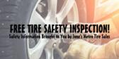 Auto Tire Inspection