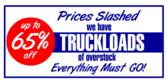 Truckloads of Overstock