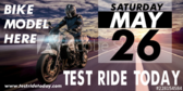 Test Ride a Motorcycle