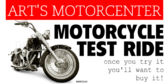 Motorcycle Test Ride Black