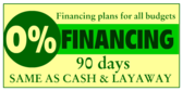 Financing Plans