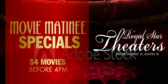 Movie Theater Matinee Prices