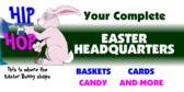 Hip Hop Easter Bunny Shops