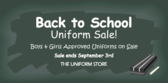 Children Back to School Uniform