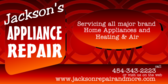 Appliance Repair with Website
