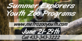 Summer Explorers Youth Zoo