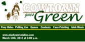 Cowtown Goes Green