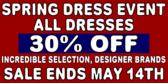 Spring Dress Event