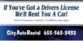 Auto Rental Got License