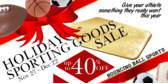 Sporting Goods Holiday Sale