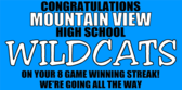 Congratulations Mountain View High