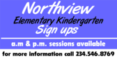Elementary Kindergarten Banner