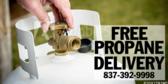 Propane Free Delivery