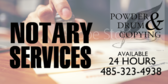 Copy Business notary services