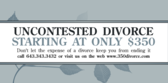 Attorney Uncontested Divorce