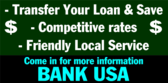 Transfer your loan & save