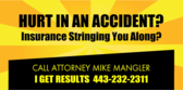 Attorney Hurt in Accident