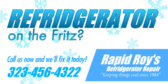 Repair Refrigerator Fritz