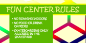 Play Center Rules