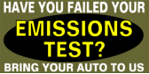 Have you failed your emissions test