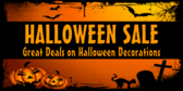 Halloween Decor Sale