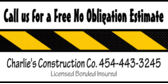 Business No Obligation Estimate
