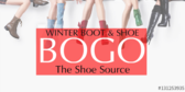 Boot and Shoe Sale