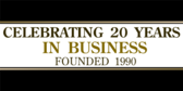 Business Celebrating Years