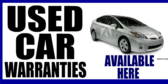 Used Car Warranties Available